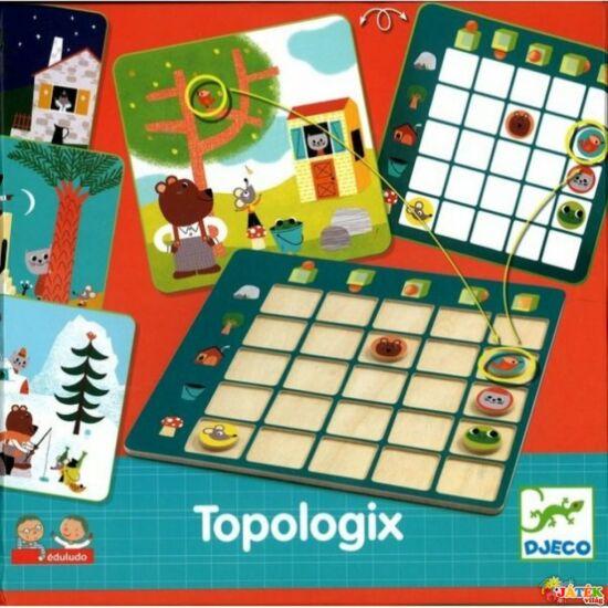 Topologix térbeli, síkbeli tájékozódást fejlesztő játék - Djeco 8354 (BO)