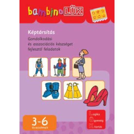 Képtársítás LÜK Bambino füzet LDI-123