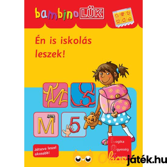 Én is iskolás leszek!  LÜK Bambino füzet (LDI-129) (DI)