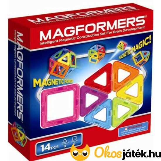 """Magformers mágneses építőjáték 14 darabos (DM) """"utolsó darabok"""""""
