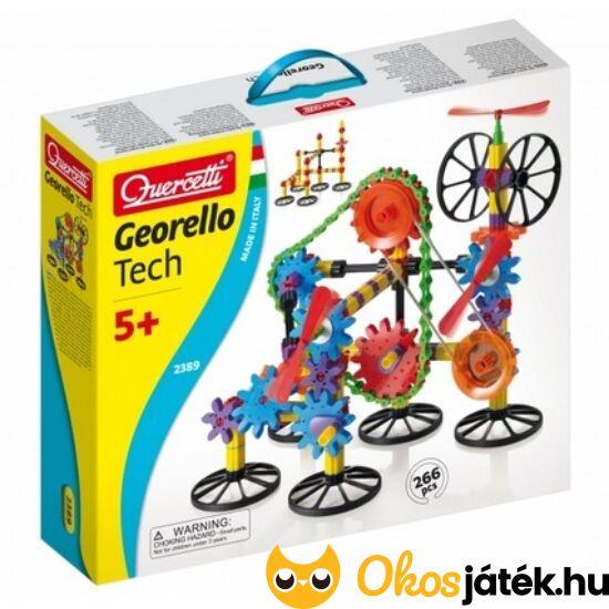 Quercetti Georello Tech fogaskerekes építő játék  - KW 2389
