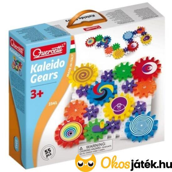 Quercetti Fogaskerék játék - Kaleido Gears - KW 2341