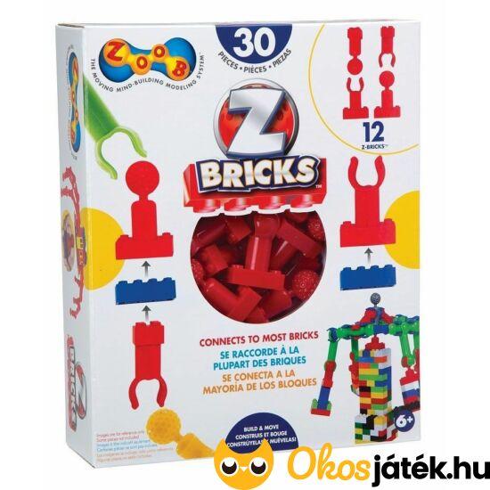ZOOB Z-bricks összekötő elemek Legohoz (KW)