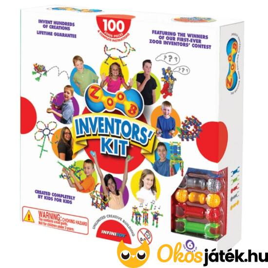 "ZOOB 100 darabos ""Inventors Kit"" 11100 (KW)"