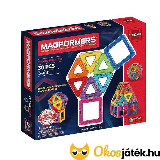Magformers 30 db-os mágneses építőjáték  63076 - DM