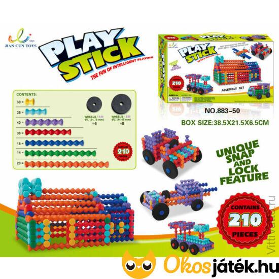 Playstick 210 darabos építő játék (RE)
