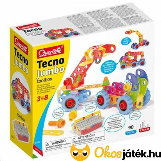 Quercetti Tecno Jumbo építőjáték