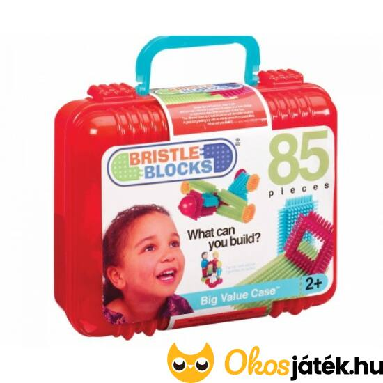 Tüskejáték, tüske építő játék nagy készlet 85db-os JC70.3071 (JC)