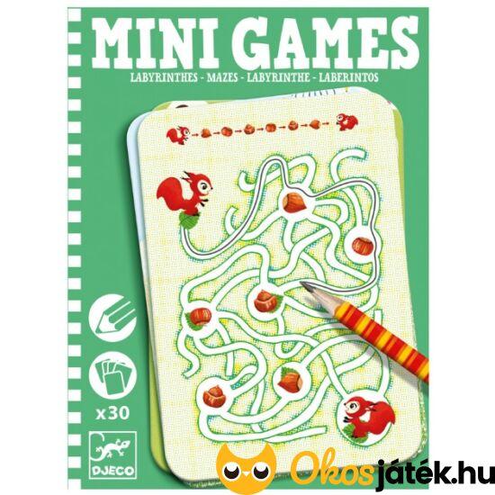 Labirintus feladatok gyerekeknek (feladatkártya csomag) - Djeco 5324 (BO)