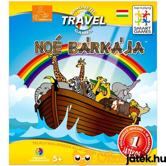Noé bárkája játék, mágneses logikai Smart Games játék - GA