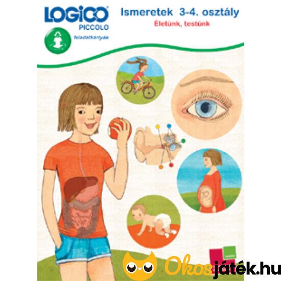 """LOGICO Piccolo 5410 - Ismeretek 3-4. osztály: Életünk, testünk 8+ (TF) """"utolsó darabok"""""""