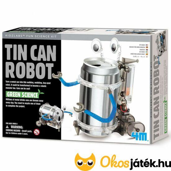 4M Tin Can robot  / Üdítősdoboz robot - RE 81473