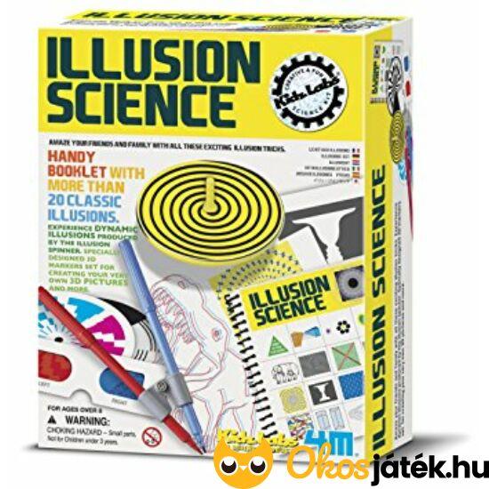 Optikai kísérletező készlet - 4M Illusion Science 50694 (RE)