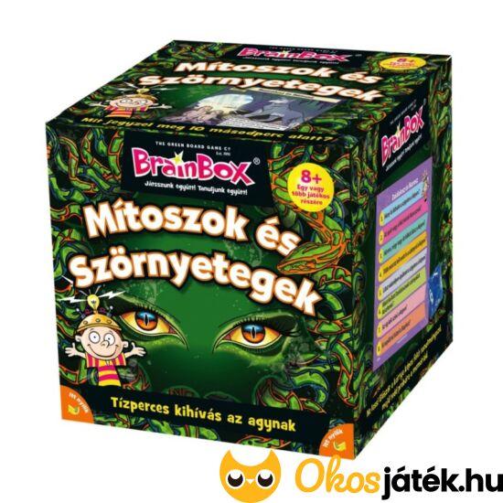 """Brainbox Mítoszok és szörnyetegek- memória és kvíz kérdések játék (KE)  """"utolsó darabok"""""""
