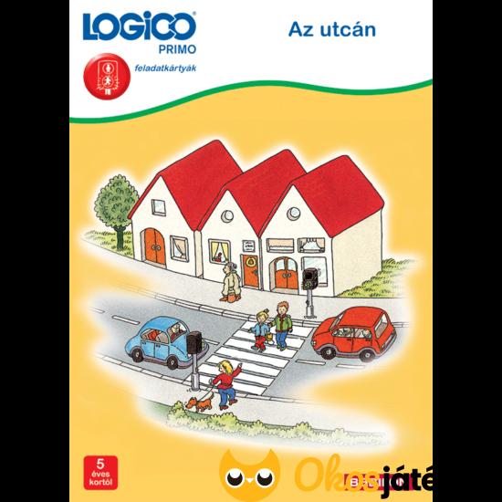 LOGICO Primo feladatlapok - Az utcán (3231)  (TF)