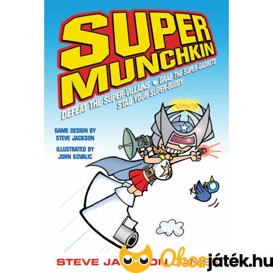 """Super Munchkin - humoros társasjáték tiniknek, felnőtteknek (GE) """"Utolsó darabok"""""""