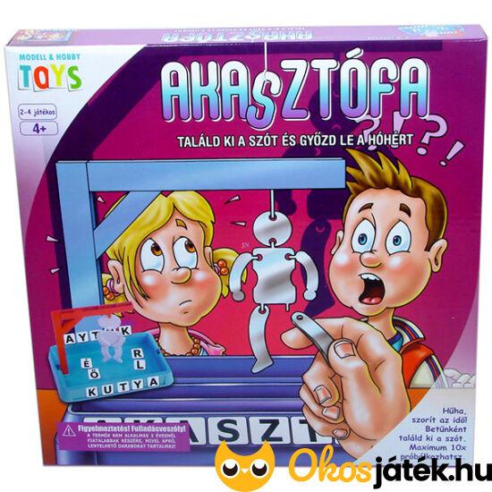 Akasztófa társasjáték - betűkitaláló játék - műanyag  GM2008 (MH)