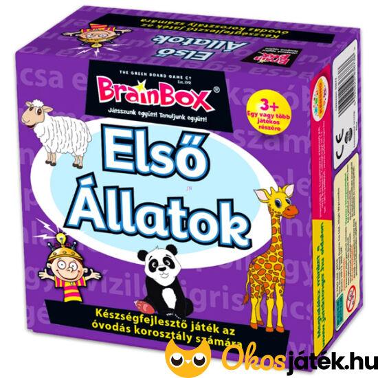 Brainbox Első állatok - memória és betű játék kicsiknek - KE 936738