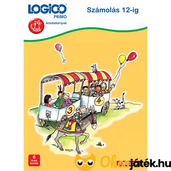 Logico Primo feladatlapok - Számolás 12-ig 3247