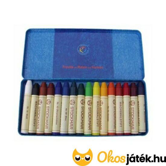 """Méhviasz zsírkréta / ceruza  - Stockmar, 16 színű  (KA) """"Utolsó darabok"""""""