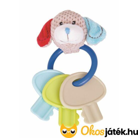 Bruno kutyusos kulcsos csörgő játék babáknak BB545 (BI)