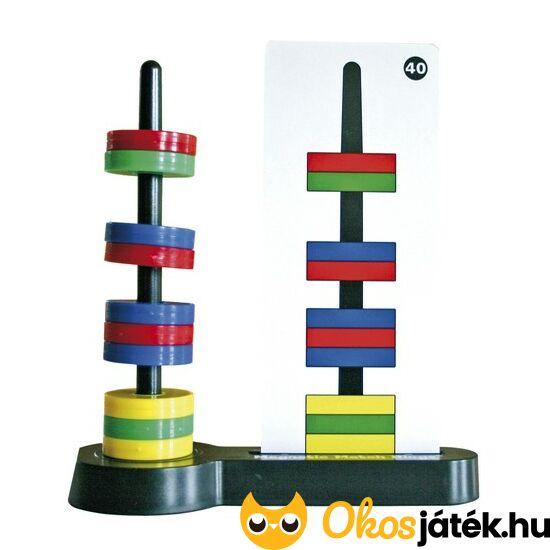 Mágneses gyűrűk logikai játék feladványokkal - 120105 (ED)