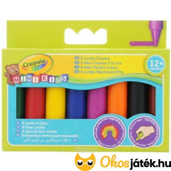 Crayola Jumbo zsírkréta készlet  8 db-os 0080 (MH)