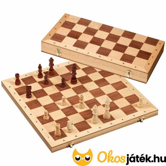 Philos NAGY sakk készlet fából 40*40cm táblával - 2607 (PG)