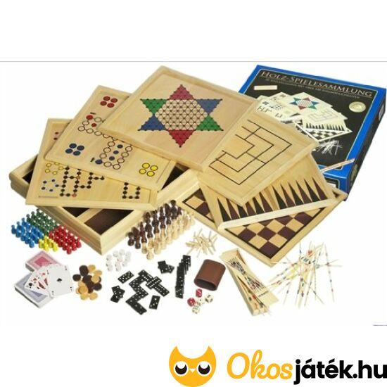 Nagy fa játékgyűjtemény - Philos nagy játékkészlet 20/100 - 3102 (PG)