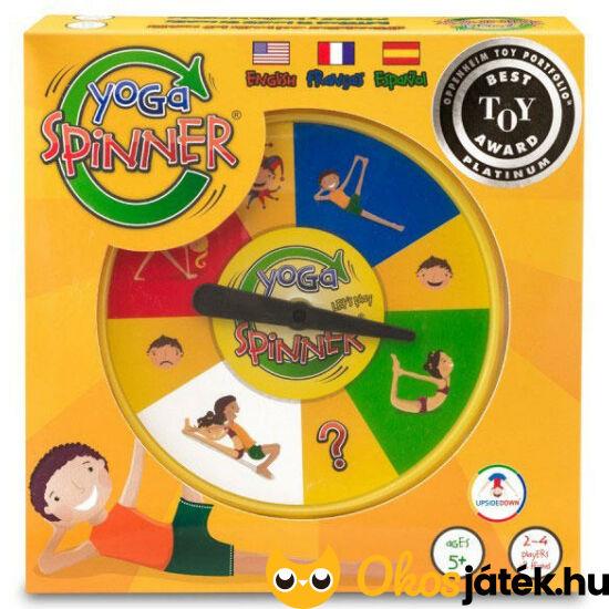 Yoga Spinner - Jóga játék gyerekeknek - Thinkfun  (GE)