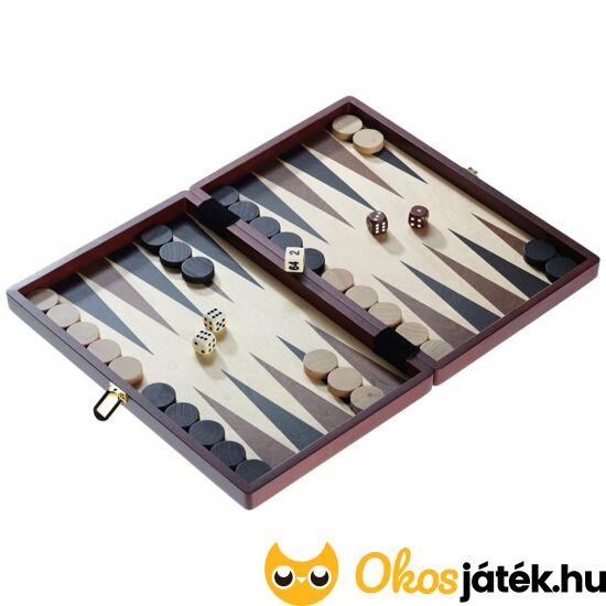 Philos Naxos,  minőségi backgammon készlet fából - 1112 (PG)