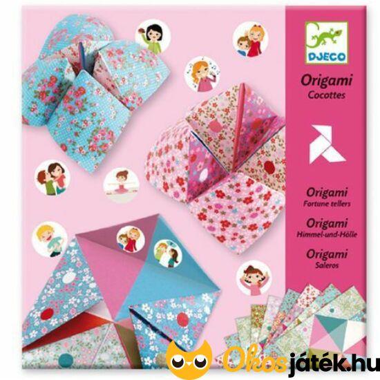 """Origami rózsaszín sótartó """"csiki-csuki"""" készlet - Djeco 8773 (BO)"""