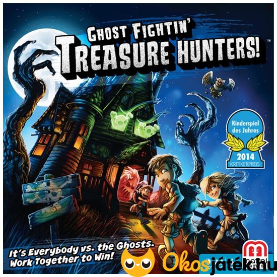 Treasure Hunters - Szellemes kincskeresők kooperatív játék (MH)
