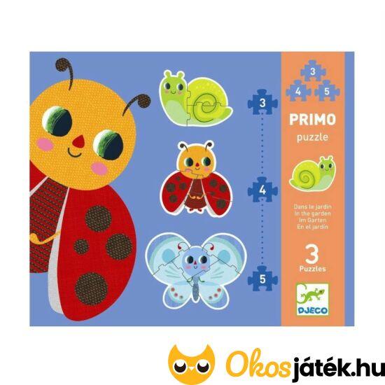 3-4-5db-os Puzzle - Katicabogaras, össz. 12db - Djeco 7141 (BO)