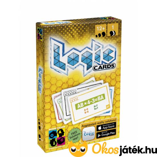 Logikai feladványok - BG Logic Cards - Sárga - YO