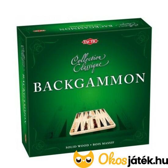 """Backgammon társasjáték - Tactic 40219 (YO) """"Utolsó darabok"""""""