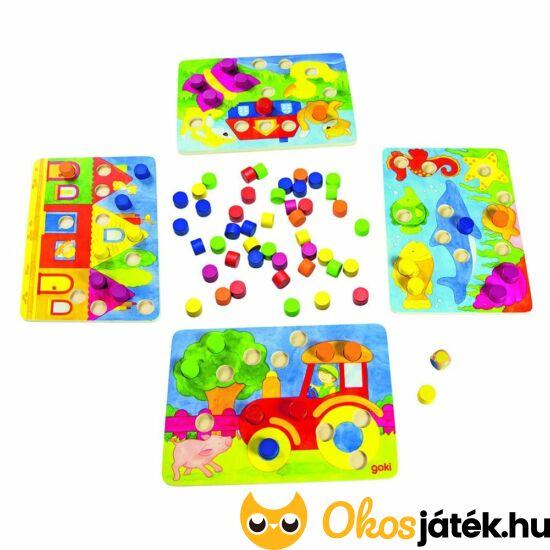 Játék a színekkel - Goki - 56705 (GO)