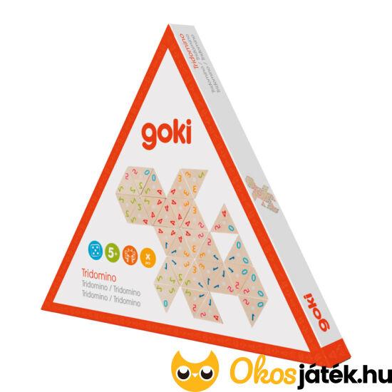 Számdominó játék, háromszög alakú - Goki 56894 (GO)