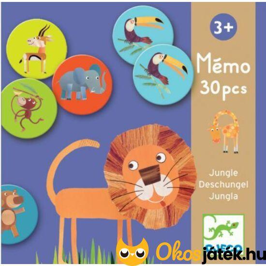Memo Jungle - memória társasjáték három éves kortól - DJ8159  (BO)