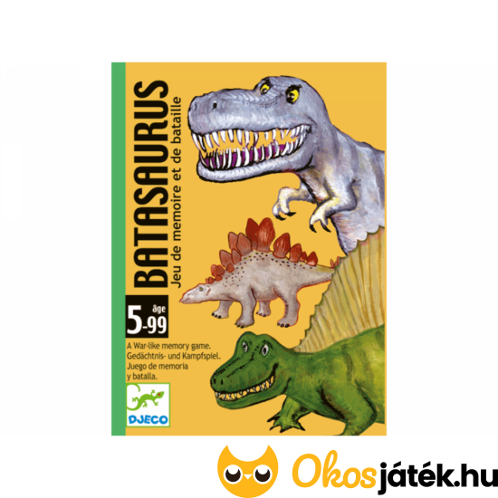 Batasaurus kártyajáték - DJ 5136