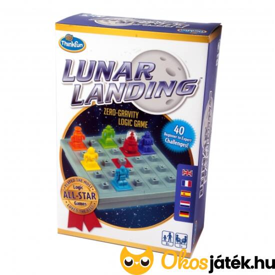 """Lunar Landing logikai játék - ThinkFun (GE) """"Utolsó darabok"""""""