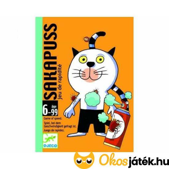 Csapd le csacsi macska módra - Sakapuss kártyajáték - DJ5111 (BO)