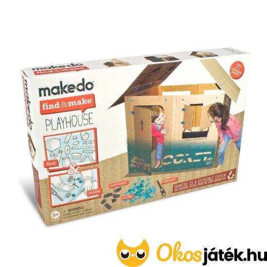 """Makedo- Playhouse- Játszóház, bunker építő készlet  FM05-001 (BO) """"Utolsó darabok"""""""