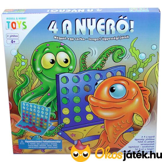 4 a nyerő! ügyességi játék GM2005 (JN)
