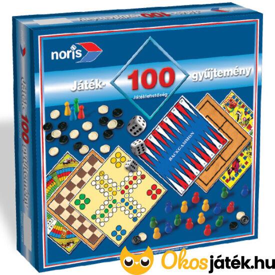 Játékgyűjtemény 100 játéklehetőséggel -  Noris (SI)