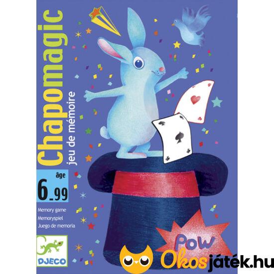 """Chapomagic - a figyelem és gyors reflex kártyajátéka - Djeco DJ5133 (BO) """"Utolsó darabok"""""""