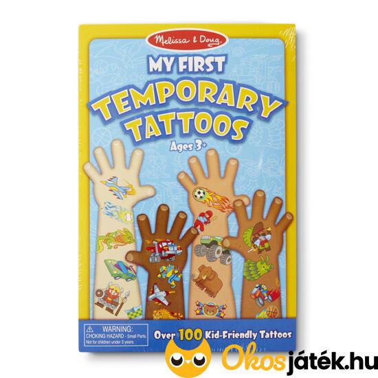 Első tetoválásom fiús - Melissa Doug 12947  (ME-K1)