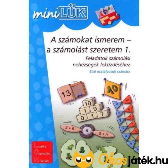 A számokat ismerem - a számolást szeretem 1 LÜK Mini LDI231 (DI)