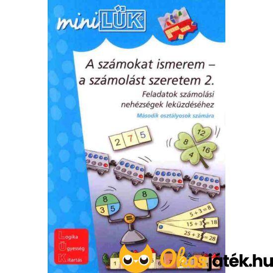 A számokat ismerem - a számolást szeretem 2 LÜK Mini LDI232
