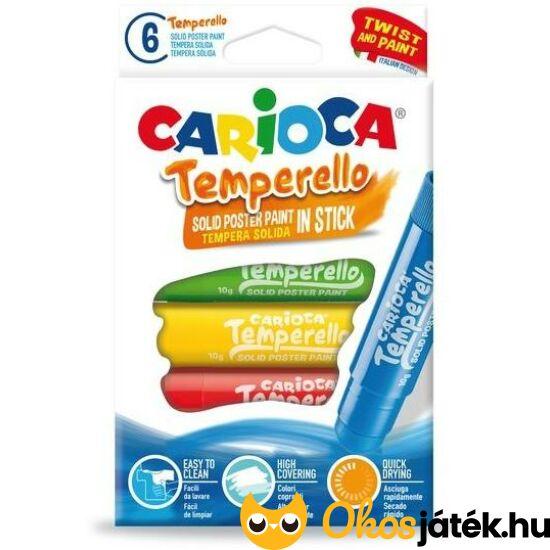 Carioca Tempera pöttyöző marok filctoll 6db (pöttyöző színezéshez) 42739 (KW)